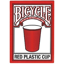 Red Plastic Cup Playing Cards