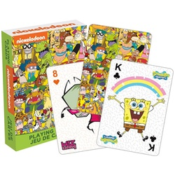 Nickelodeon Characters Playing Cards