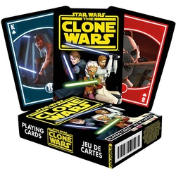 SW Clone Wars Playing Cards