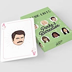 Parks and Rec Playing Cards