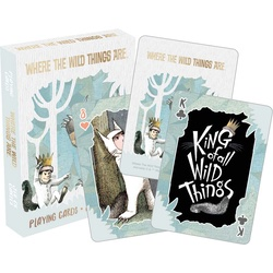 Where the Wild Things Are Playing Cards
