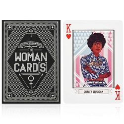 American Women Playing Cards