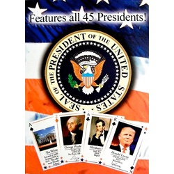 US President Playing Cards