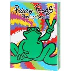 Peace Frog Playing Cards