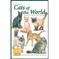Cats of the World Playing Cards