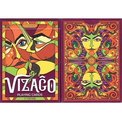 Vizago Red Playing Cards
