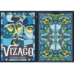 Vizago Blue Playing Cards
