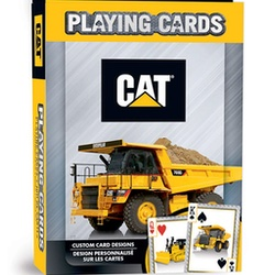 CAT Equipment Playing Cards