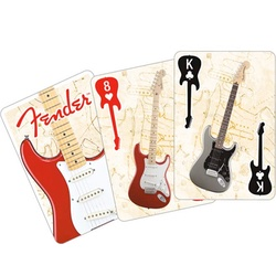 Fender Guitar Playing Cards
