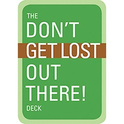 Don't Get Lost Playing Cards