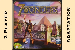 7 Wonders Game Box