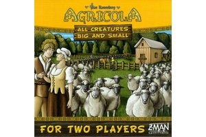 Agricola All Creatures Big and Small Game Box